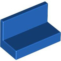 Blue Panel 1 x 2 x 1 with Rounded Corners