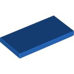 Blue Tile 2 x 4 - new