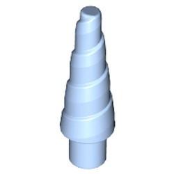 Bright Light Blue Horn (Unicorn) - new