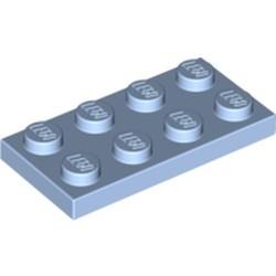 Bright Light Blue Plate 2 x 4