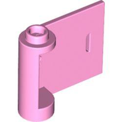 Bright Pink Door 1 x 3 x 2 Right - Open Between Top and Bottom Hinge