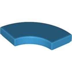 Dark Azure Tile, Round Corner 2 x 2 Macaroni