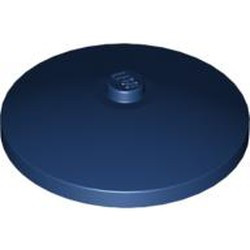 Dark Blue Dish 4 x 4 Inverted (Radar) with Solid Stud - new