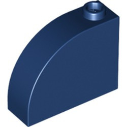 Dark Blue Slope, Curved 3 x 1 x 2 with Stud BULK STOCK. NEED MORE? PLEASE CONTACT US! BULK STOCK. NEED MORE? PLEASE CONTACT US! BULK STOCK. NEED MORE? PLEASE CONTACT US!- new
