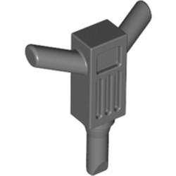 Dark Bluish Gray Minifigure, Utensil Tool Motor Hammer (Jackhammer) - used