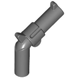 Dark Bluish Gray Minifigure, Weapon Gun, Pistol Revolver - Large Barrel