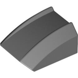 Dark Bluish Gray Slope, Curved 2 x 2 Lip - used