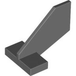 Dark Bluish Gray Tail Shuttle, Small - used
