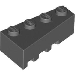 Dark Bluish Gray Wedge 4 x 2 Right - used
