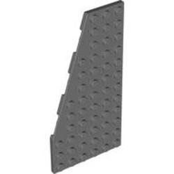 Dark Bluish Gray Wedge, Plate 12 x 6 Left