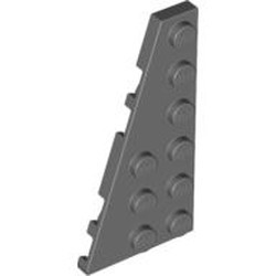 Dark Bluish Gray Wedge, Plate 6 x 3 Left