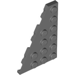 Dark Bluish Gray Wedge, Plate 6 x 4 Left