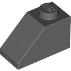 Dark Gray Slope 45 2 x 1