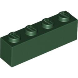 Dark Green Brick 1 x 4