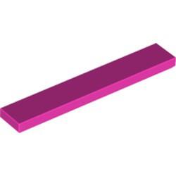 Dark Pink Tile 1 x 6