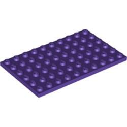Dark Purple Plate 6 x 10