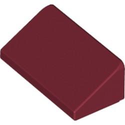 Dark Red Slope 30 1 x 2 x 2/3 - new