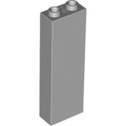 Light Bluish Gray Brick 1 x 2 x 5 - Blocked Open Studs or Hollow Studs