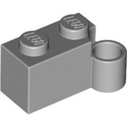 Light Bluish Gray Hinge Brick 1 x 4 Swivel Base