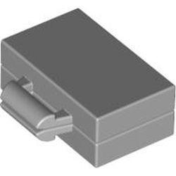 Light Bluish Gray Minifigure, Utensil Briefcase / Suitcase