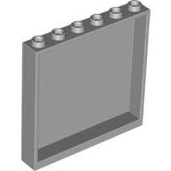 Light Bluish Gray Panel 1 x 6 x 5