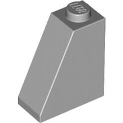 Light Bluish Gray Slope 65 2 x 1 x 2 - new