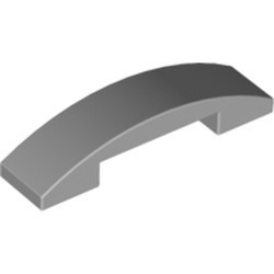 Light Bluish Gray Slope, Curved 4 x 1 Double