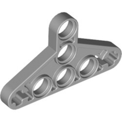 Light Bluish Gray Technic, Liftarm, Modified Triangle Thin