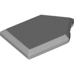 Light Bluish Gray Tile, Modified 2 x 3 Pentagonal - used