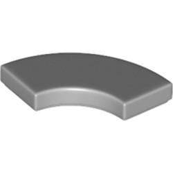 Light Bluish Gray Tile, Round Corner 2 x 2 Macaroni - new