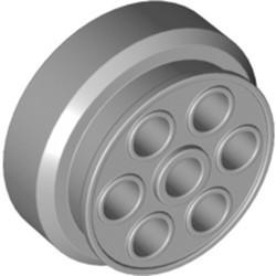 Light Bluish Gray Wheel 30mm D. x 13mm (13 x 24 Model Team)