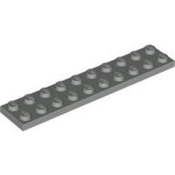 Light Gray Plate 2 x 10 - used