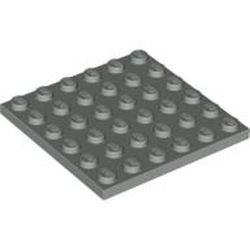 Light Gray Plate 6 x 6