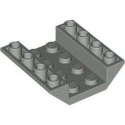 Light Gray Slope, Inverted 45 4 x 4 Double - used