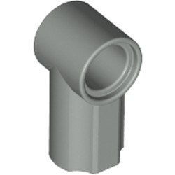 Light Gray Technic, Axle and Pin Connector Angled #1