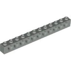 Light Gray Technic, Brick 1 x 12 with Holes