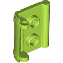 Lime Minifigure, Utensil Book Binding with 2 Studs