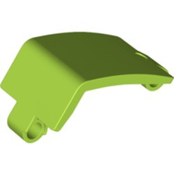 Lime Technic, Panel Curved 3 x 5 x 3 - new