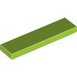 Lime Tile 1 x 4 - new