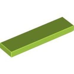 Lime Tile 1 x 4