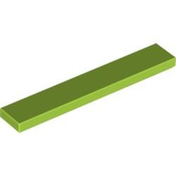 Lime Tile 1 x 6 - new