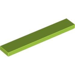 Lime Tile 1 x 6