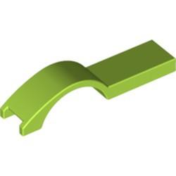 Lime Vehicle, Mudguard 1 x 4 1/2 - used