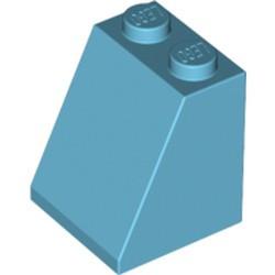 Medium Azure Slope 65 2 x 2 x 2 with Bottom Tube - used