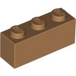 Medium Nougat Brick 1 x 3 - new