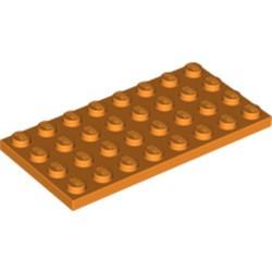Orange Plate 4 x 8 - new