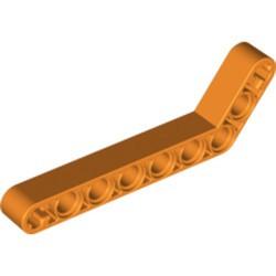 Orange Technic, Liftarm, Modified Bent Thick 1 x 9 (7 - 3) - used