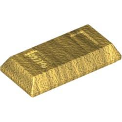 Pearl Gold Minifigure, Utensil Ingot / Bar