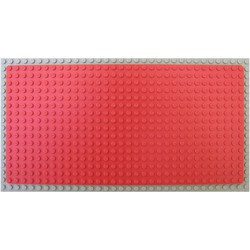 Red Baseplate 16 x 32 - used
