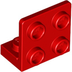 Red Bracket 1 x 2 - 2 x 2 Inverted - used